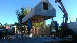 Модульный дом 20 м.кв со спальными антресолями