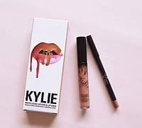 Матовая помада + карандаш Kylie Candy K