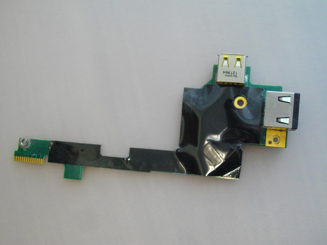 Плата с USB портом и сеть Lenovo W530
