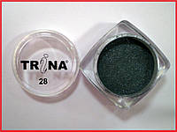 028 TRINA цветная акриловая пудра 3.5 г