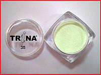 035 TRINA цветная акриловая пудра 3.5 г