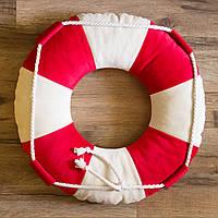 """Интерьерная декоративная подушка """"Спасательный круг маленький"""", фото 1"""