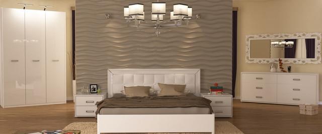 спальня Бэлла в белом цвете