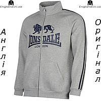 Кофта свитшот толстовка Lonsdale мужская для тренеровок   Кофта світшот Lonsdale чоловіча сіра XS