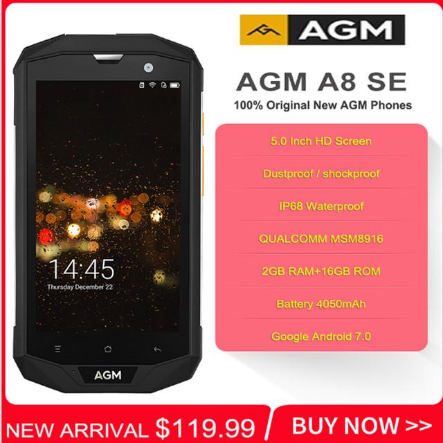 Защищенный сартфон AGM A8 SE за 120$