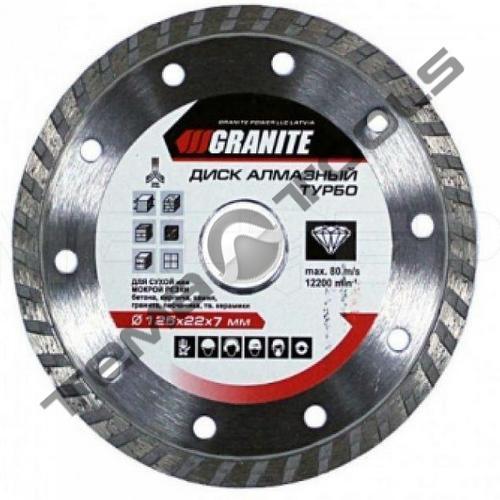 Диск алмазный Granite turbo 180 х 22.2