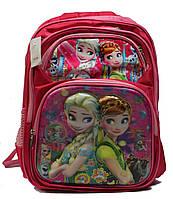 """Ортопедический школьный рюкзак для девочки 1-4 класс в 3D изображении """"Холодное сердце"""""""