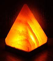 Гималайская соль светильник пирамида - ионизатор