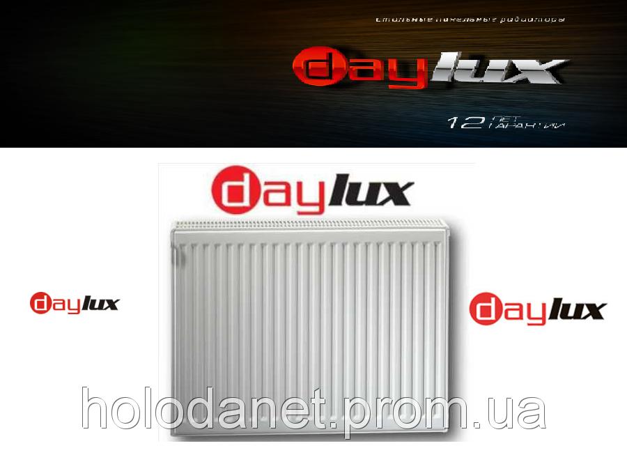 Стальной Радиатор 600x1400 тип 22 DayLux (боковое подключение)