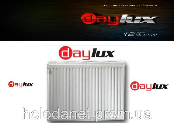 Стальной Радиатор 600x1400 тип 22 DayLux (боковое подключение), фото 2