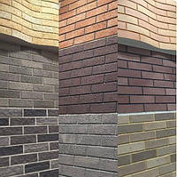Клинкерная плитка для фасада, гибкая керамика