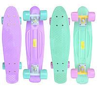Пенни борд пастельная коллекция (Penny Board Pastel), 2 цвета: мятный/лиловый, фото 1