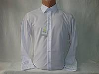 Мужская белая рубашка с длинным рукавом Nens, Турция