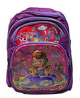 """Ортопедический школьный рюкзак для девочки 1-4 класс в 3D изображении """"Sofia"""""""