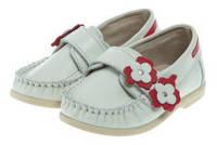 Туфли детские (мокасины) ТМ Берегиня р23, 24 кожаные для девочек 1412