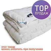 Одеяло из искусственного лебяжьего пуха чехол тик теплое 200х205 см / одеяла  для дома