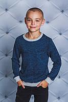 Джемпер для мальчика джинс