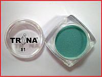 081 TRINA цветная акриловая пудра 3.5 г