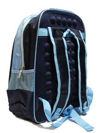 5b302125db2a Ортопедический школьный рюкзак для мальчиков 1-4 класс в 3D изображении  синий, фото 2