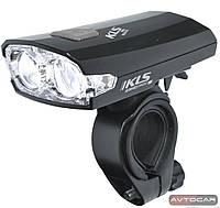 Велосипедная светодиодная фара KLS Index USB