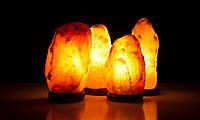 Светильник из гималайской соли Скала 14-18 кг