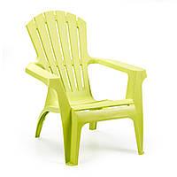 Садовое пластиковое кресло Dolomiti лайм
