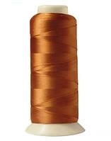 """Нитки вышивальные шелковые  """"777"""" - цвет золотисто-коричневый"""