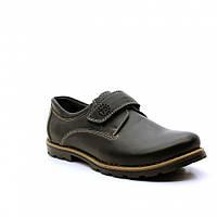Туфли школьные для мальчиков FS collection р.32-39, фото 1