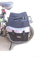 Сумка на велосипед Велорюкзак M-Wave крепление на багажник, фото 1