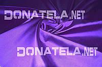 Ткань костюмная фиолетовая натуральная