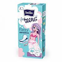 Ежедневные прокладки Bella Teens Sensitive,20шт