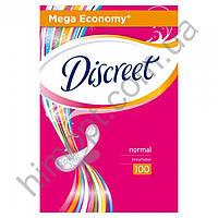 Ежедневные прокладки Discreet Normal No Perfume, 100 шт