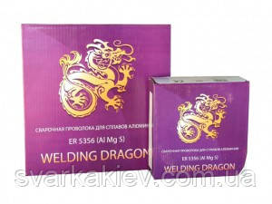 Сварочная проволока Welding Dragon ER5356 1,2 мм (катушка 7 кг)