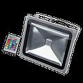 Прожектор светодиодный RGB 30Вт с пультом акция