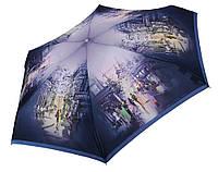 Женский зонт Zest МИНИ  Туманный город (механика)  арт. 253625-8
