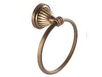 Держатель для полотенец кольцо Kugu Hestia , бронза