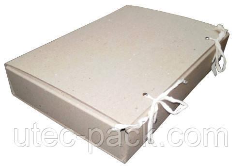 Папка-бокс товщина 60 мм 230*320 мм бежева ЮТЭК ПБ-60 (8 шт).