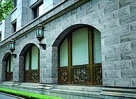 Декоры фасадные, камень, травертин, сланец, песчаник