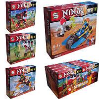 Набор конструктора лего Ниндзяго (Lego Ninjago) на транспорте SY741