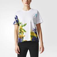 Adidas by Stella McCartney футболка Essentials Nature Print BQ8340 - 2017/2