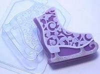 Пластиковая форма для мыла Конек ажурный