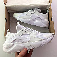 Белые женские кроссовки найк хуараче, Nike White