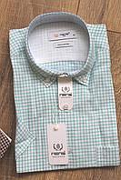 Мужская рубашка с коротким рукавом Nens Classic, льон