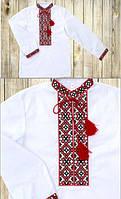 Белая мужская вышиванка / Біла чоловіча вишиванка