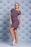 Платье женское короткое штапель
