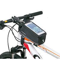 "Сумка на раму для смартфона Roswheel 5.5"", цвет: черный"