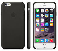 Чехол-накладка Original Leather case для iPhone 5/5S/SE grey