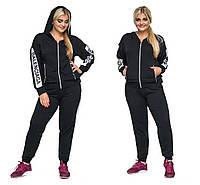 Женский спортивный костюм Balenciaga  черный