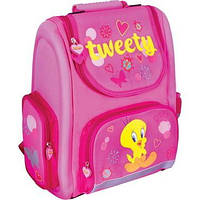 """Мультяшный школьный рюкзак с рисунком для девочки 6+ CFS 15"""", """"Tweety"""""""