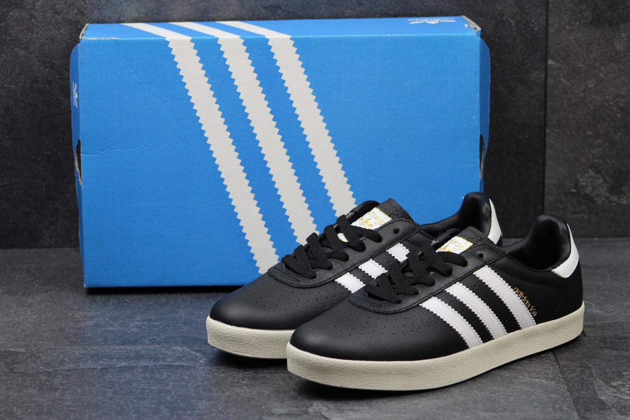 Мужские кроссовки Adidas 350 черно-белые
